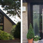 WIRUS Kunststoff-Fenster MD73 | Rahmen: 5-Kammer-System, 73 mm Bautiefe, Uf-Wert 1,3W/m²K | Glas: Wärmeschutz-Glas, Ug-Wert 0,6 W/m²K, WK-2 Beschlag | WIRUS Haustür mit Seitenteilen Thermo Top, 84 mm Bautiefe, thermisch getrenntes Aluminium-Profil, 3-fach Verglasung mit Verbundsicherheitsglas außen und einem Designglas in der mittleren Ebene Edelstahl-Garnitur | LOBO Innentürelemente | Montage: RAL-Montage
