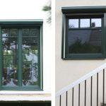 WIRUS Kunststoff-Fenster Thermo 90 | Rahmen: 6-Kammer-System, 90 mm Bautiefe, Uf-Wert 1,0W/m²K | Glas: 3-fach-Wärmeschutz-Glas, Ug-Wert 0,6 W/m²K, WK-2 Beschlag | WIRUS Haustür Thermo Top, 84 mm Bautiefe, thermisch getrenntes Aluminium-Profil, 3-fach Verglasung mit Verbundsicherheitsglas außen, Edelstahl-Garnitur | Montage: RAL-Montage