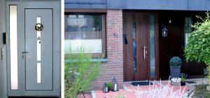 WIRUS-Fenster außen foliert, innen weiß | Glas: Wärmeschutz-Glas, Ug-Wert 0,6 W/m²K, WK-2 Beschlag