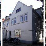 links: vor der Maßnahme | WIRUS-Fenster MD76, Oberfläche: außen und innen foliert | Glas: 3-fach Wärmeschutz-Glas, Ug-Wert 0,6 W/m²K, WK-2 Beschlag