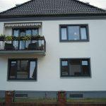 UNILUX Holz-Aluminium-Fenster | Blend/Flügelrahmen: 84 mm Bautiefe | Glas: 3-fach-Wärmeschutz-Glas, Ug-Wert 0,6 W/m²K, WK-2 Beschlag