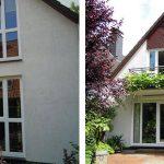 WIRUS Kunststoff-Fenster MD76 | Rahmen: 5-Kammer-System, 76 mm Bautiefe, Uf-Wert 1,2W/m²K | Glas: 3-fach-Solar-Energy-Glas, Ug-Wert 0,6 W/m²K, g-Wert 62%, WK-2 Beschlag | Montage: RAL-Montage Energetische Sanierung der Fenster