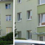 WIRUS Kunststoff-Fenster MD76 | Rahmen: 5-Kammer-System, 76 mm Bautiefe, Uf-Wert 1,2W/m²K | Glas: 3-fach-Solar-Energy-Glas, Ug-Wert 0,6 W/m²K, g-Wert 62%, WK-2 Beschlag | Montage: RAL-Montage | WIRUS Haustür mit Seitenteil Iso Top 76: 76 mm Bautiefe, 3-fach Verglasung mit Verbundsicherheitsglas außen Mehrfach-Verriegelung, Sicherheits-Profilzylinder, Edelstahl-Garnitur mit Kernziehschutz Briefkastenanlage, Klingelanlage Energetische Sanierung der Fenster / Gebäudehülle